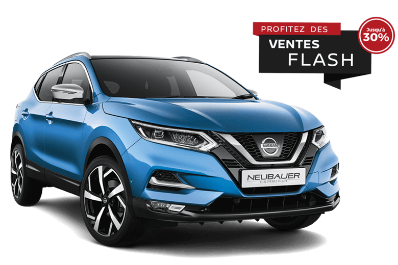 Nissan Qashqai Neubauer Bleu