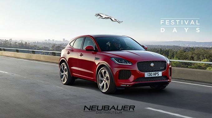 Offres Jaguar Festival Days