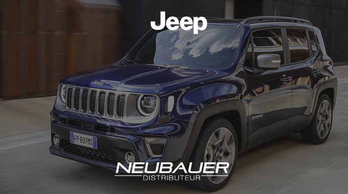 Offre Jeep RENEGADE Quicksilver