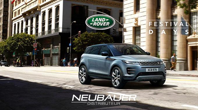 Offre Nouveau Range Rover Evoque