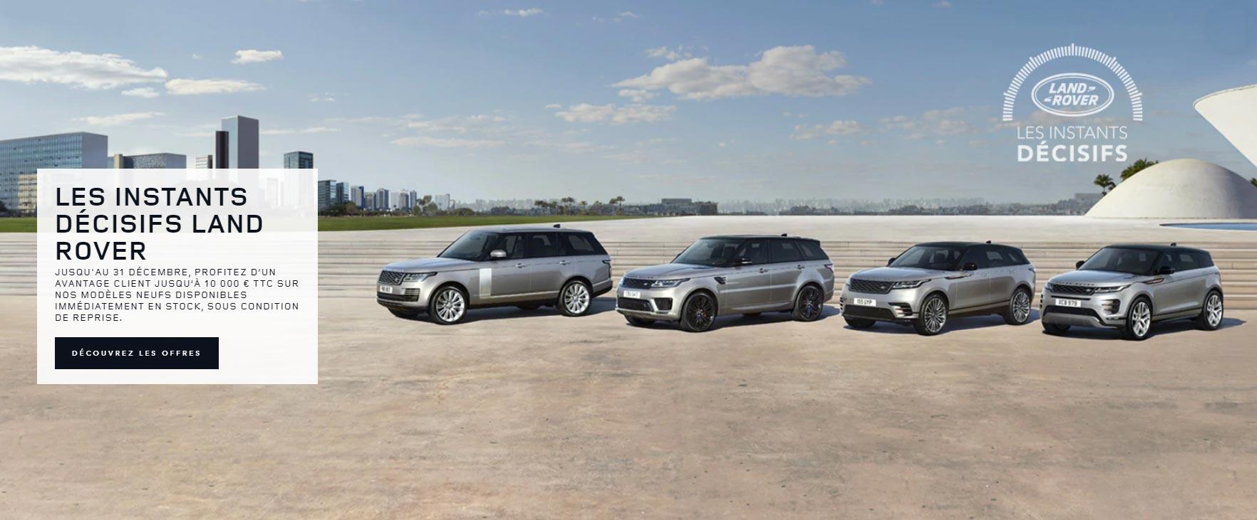 Les instants décisifs Land Rover