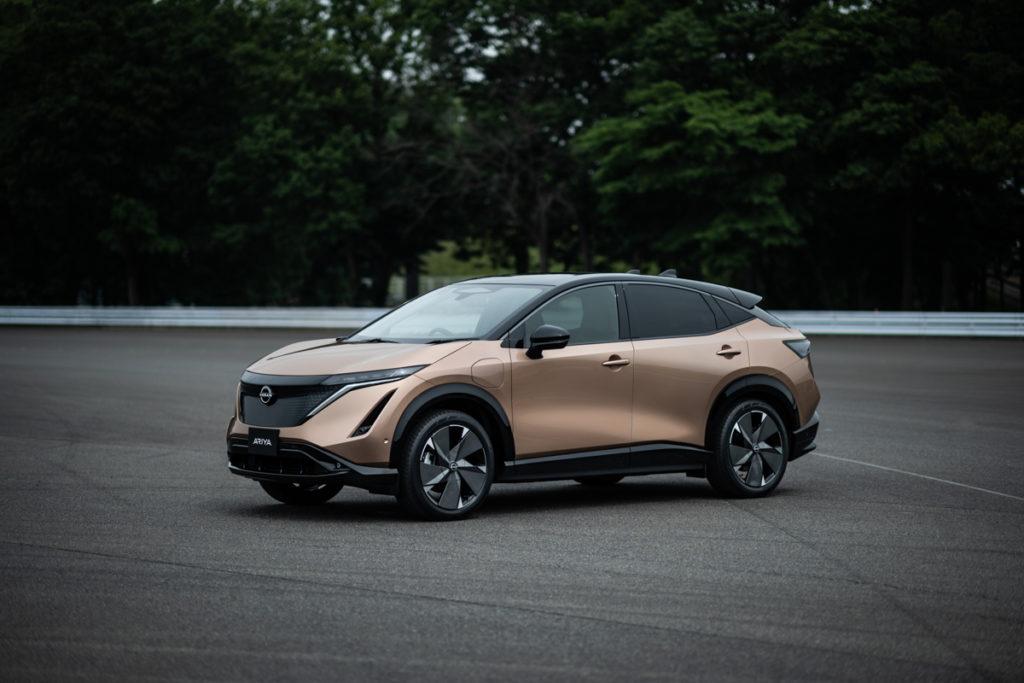 Nissan Ariya - véhicule électrique