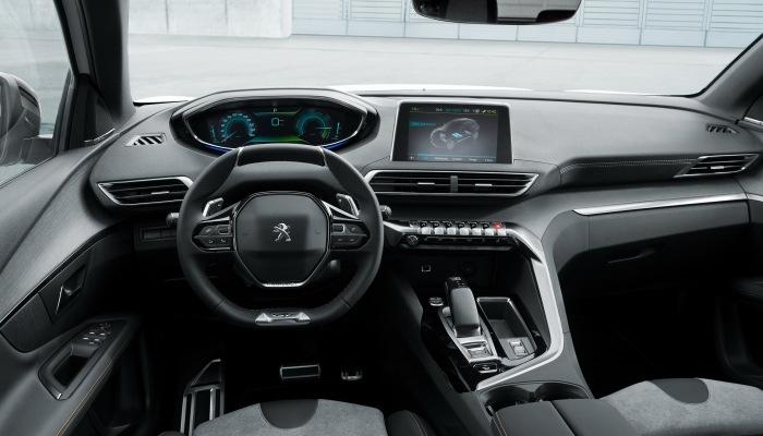 Voiture Peugeot hybrid