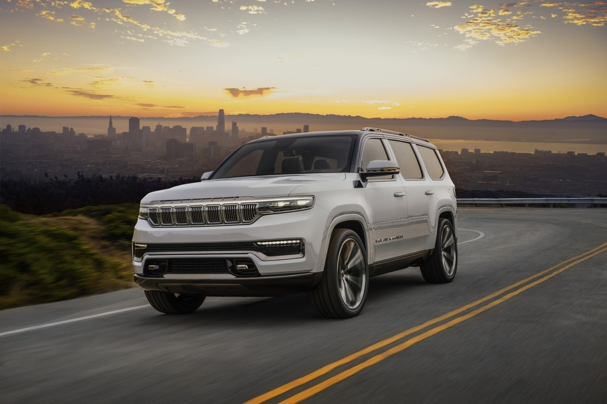 Le retour du Jeep Wagoneer, le futur grand SUV 7 places