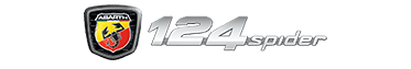 Logo Abarth 124 Spider