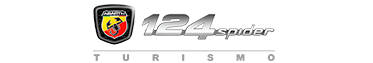 Logo Abarth 124 Spider Turismo