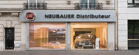 Concession NEUBAUER Fiat Neuilly