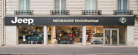 Concession NEUBAUER Alfa Romeo Paris 15ème